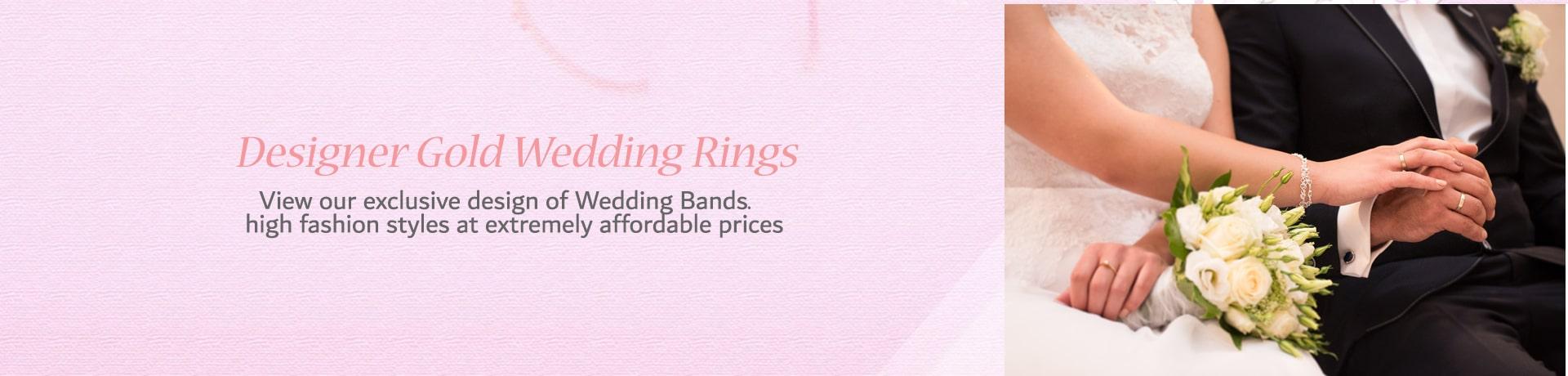 Designer Gold Wedding Bands-Category