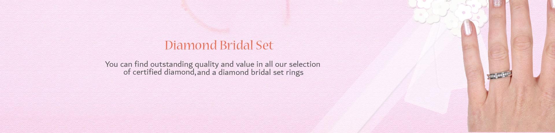 Category Diamond Bridal Set
