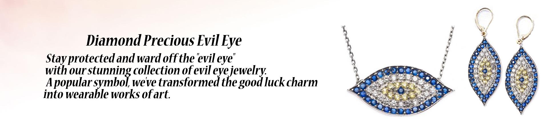 Diamond Precious Evil Eye