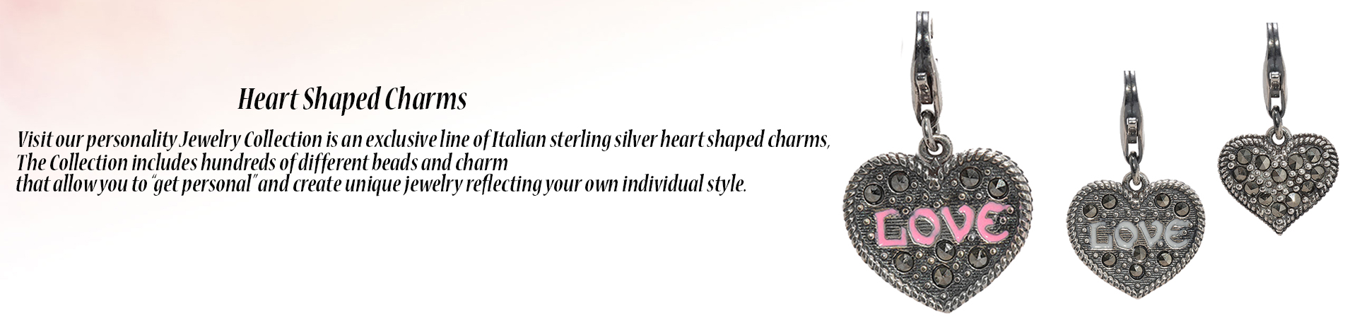 Heart Shaped Charms
