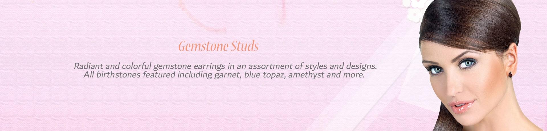 Category Gemstone Stud