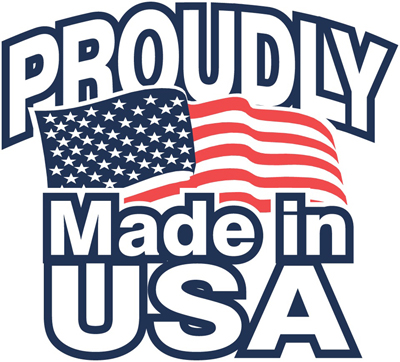 Proudly Made in U.S.A